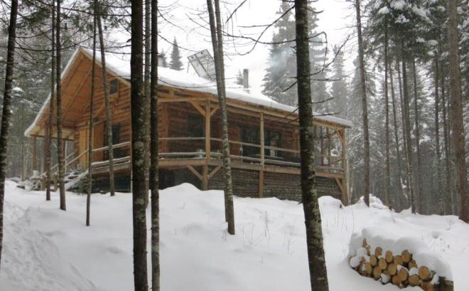#13. Finished cabin, December, 2014 - Copy